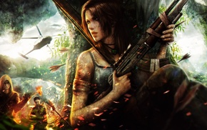 Tomb Raider, artwork, fan art, video game characters, Lara Croft, video game girls