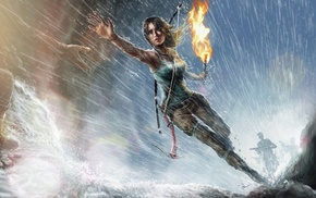 Tomb Raider, Lara Croft, video game characters, video game girls, fan art, video games