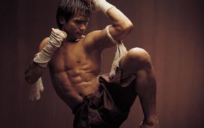 martial arts, actor, movies, men, shirtless, Tony Jaa