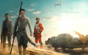Daisy Ridley, Star Wars, Star Wars Episode VII, The Force Awakens