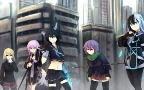 original characters, anime, anime girls, animal ears, Norah Bright, Shirogane Usagi