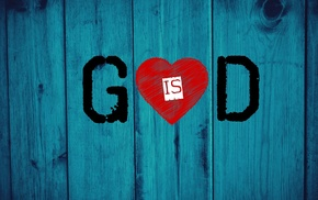God, hearts, wood, Jesus Christ, love, blue electric