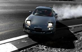 Mazda, Mazda RX, 7, car, Gran Turismo 6, PlayStation 3