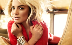 girl, celebrity, Margot Robbie, actress, blonde