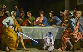Star Wars, crossover, The Last Supper
