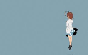 Last Order, anime girls, short hair, Arata Yamaji, To Aru Kagaku no Ippou Tsuukou, brunette