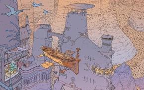 Mbius, airships