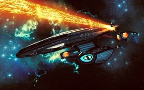 spaceship, Star Trek, space, video games