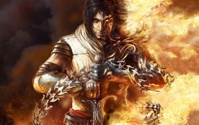 sword, fantasy art, Prince of Persia, men, video games, heroes