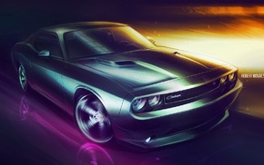 Dodge, car, challenger