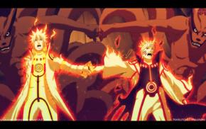 Kyuubi, Uzumaki Naruto, Naruto Shippuuden, minato namikaze