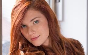 redhead, girl, Mia Sollis