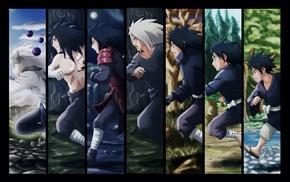 panels, Naruto Shippuuden, evolution, Uchiha Madara