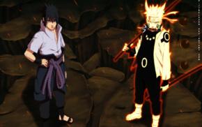 Uchiha Sasuke, Naruto Shippuuden, Uzumaki Naruto