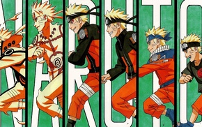 manga, Naruto Shippuuden, anime boys, panels, evolution, running