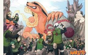 Naruto Shippuuden, Uzumaki Naruto, Hyuuga Neji, Akimichi Chji, Rock Lee, Haruno Sakura