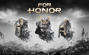 For Honor, Vikings, samurai, knights