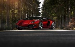 Lamborghini Aventador, car