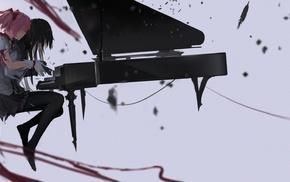 Kaname Madoka, piano, Mahou Shoujo Madoka Magica, Akemi Homura