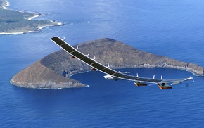 sea, solarplane