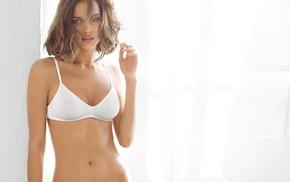 bra, girl, model, Irina Shayk