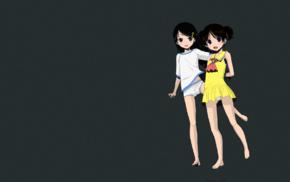 manga, anime, dark hair, Oonuma Hiroshi, tomboys, summer  dress