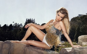 model, Polish, blonde, Joanna Krupa