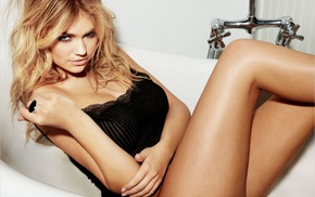 model, girl, bath, blonde, Kate Upton