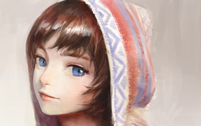 NaBaBa DeviantArt, original characters, blue eyes