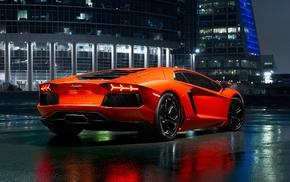 Lamborghini, Lamborghini Aventador, car