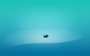 blue, mice, Xfce, minimalism