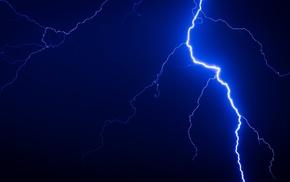 sky, lightning