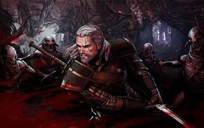 Nekker, Geralt of Rivia, The Witcher 3 Wild Hunt