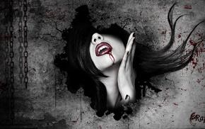 artwork, vampires