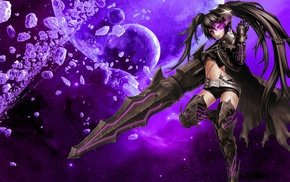 Insane Black Rock Shooter, anime, Black Rock Shooter, anime girls