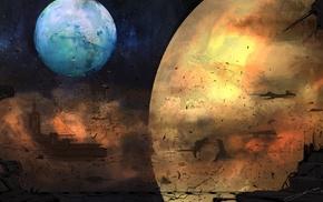 space, artwork, planet, space art