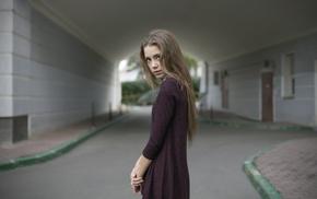 skinny, portrait, Xenia Kokoreva, girl