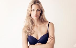 model, bra, Maria Lyth, lingerie, girl, blonde