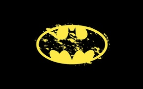 Batman, Batman logo, simple background
