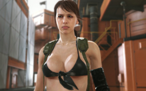Metal Gear Solid V The Phantom Pain, Quiet, Metal Gear, video games