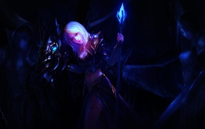 World of Warcraft, fantasy art, Jaina Proudmoore