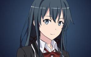 anime, anime girls, Yahari Ore no Seishun Love Comedy wa Machigatteir, Yukinoshita Yukino, artwork
