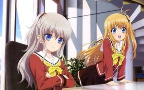 anime, artwork, anime girls, Charlotte anime, Tomonori Nao