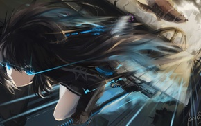 anime girls, artwork, anime, Black Rock Shooter