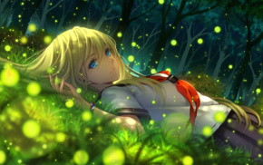 artwork, anime girls, anime, Everlasting Summer, blonde