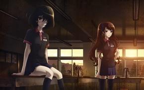 Misaki Mei, anime girls, anime, artwork, Another