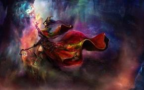 fantasy art, wizard, Diablo III