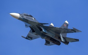 sukhoi Su, 30, military aircraft, Russian Army, aircraft, army
