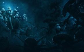 Storm Troopers vs Xenomorphs, aliens