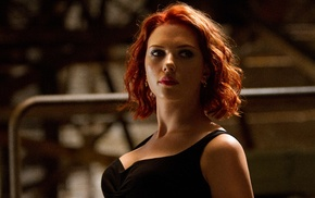 screenshots, actress, Black Widow, The Avengers, movies, Scarlett Johansson